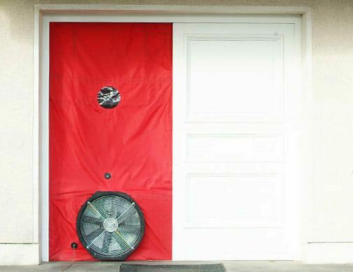 Air Permeability Testing Door